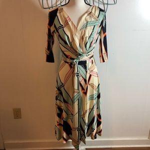 Diane von Furstenberg Penna Wrap Silk Dress